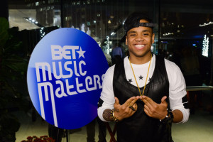 """Mack Wilds contributes the remix of """"My Crib"""" featuring Pusha T to the first volume of BET Music Matters."""