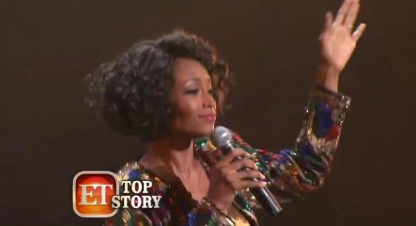 BTS Whitney Houston biopic Yaya Dacosta