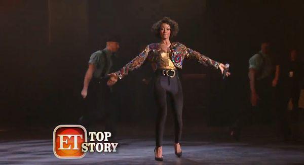 BTS Whitney Houston biopic Yaya Dacosta. 3