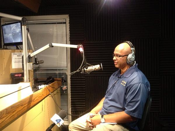 CHP Assistant Chief Chris O'Quinn on Los Angeles radio station KJLH.
