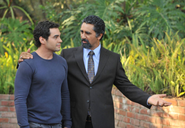 GANG RELATED: Javier Acosta (Cliff Curtis, R) and Ryan Lopez (Ramon Rodriguez, L) discuss the future in the pilot episode