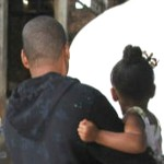 Beyonce, Jay Z and Blue Ivy View Art in Brooklyn (Pic)