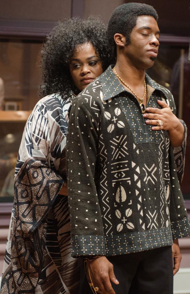 Jill Scott and  Chadwick Boseman
