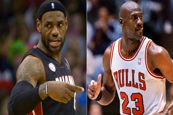 Michael Jordan- LeBron James
