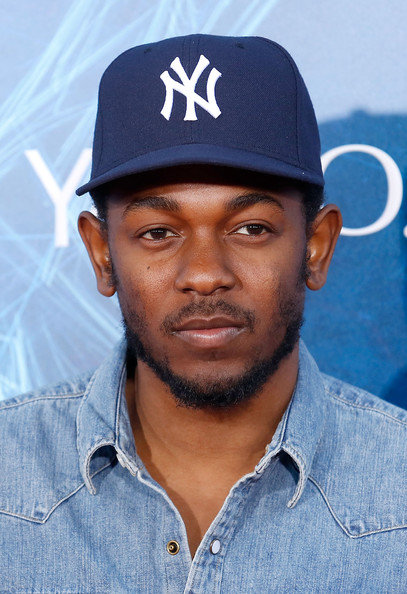"""Rapper Kendrick Lamar attends """"The Amazing Spider-Man 2"""" premiere at the Ziegfeld Theater on April 24, 2014 in New York City"""