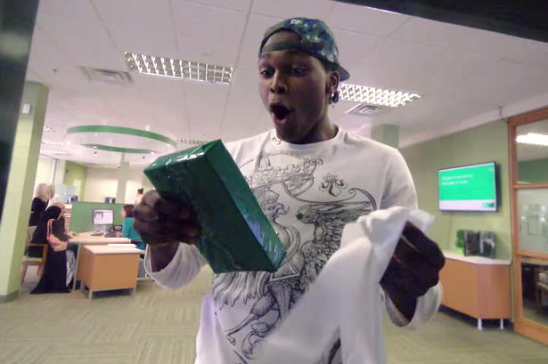 Man gets surprise money from bank in canada