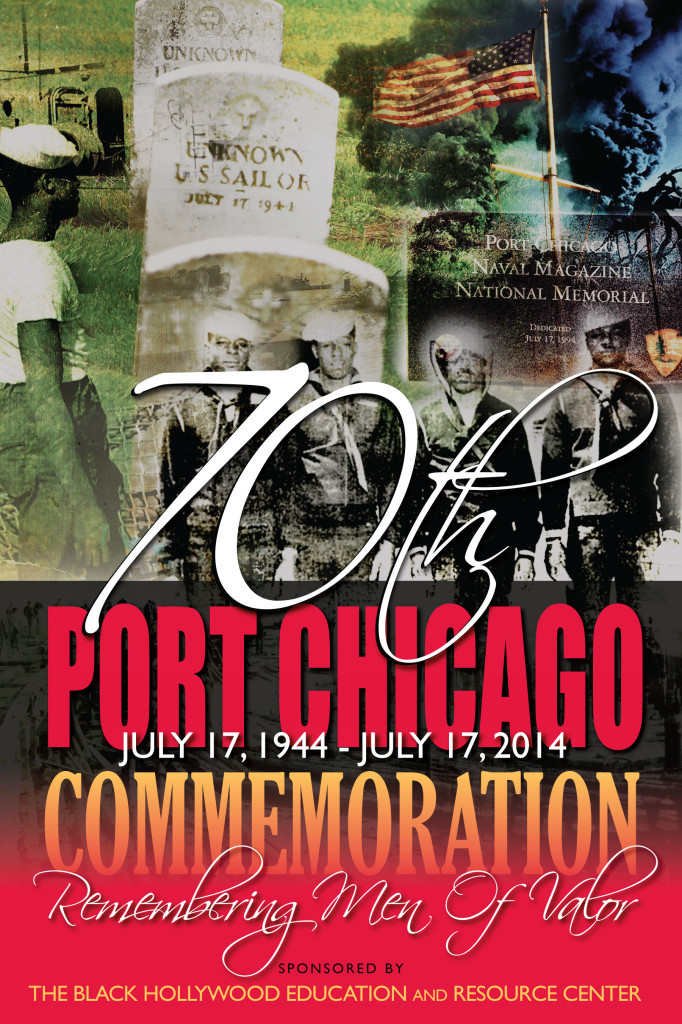 Port Chicago 1944 70th  Commemoration observed by BHER.org and other organizations.