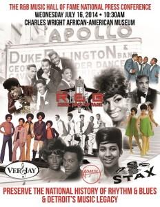 R&B HOFM Detroit Support Flyer