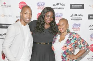 AJ Crimson, Kim Kimble and Felicia Leatherwood at the Beauty, Beats and Brands Luxury Style Lounge sponsored by  Beautiful Textures and presented by Atlantic Records.