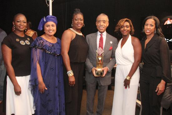 al sharpton - essence icon award
