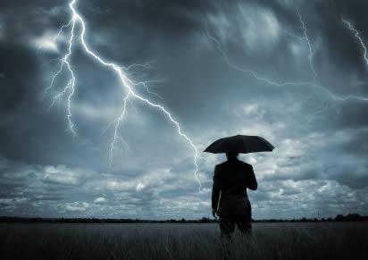 bad weather - lightening