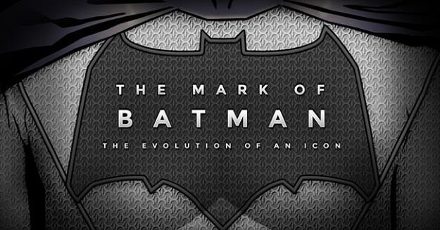 batman icon evolution - infographic