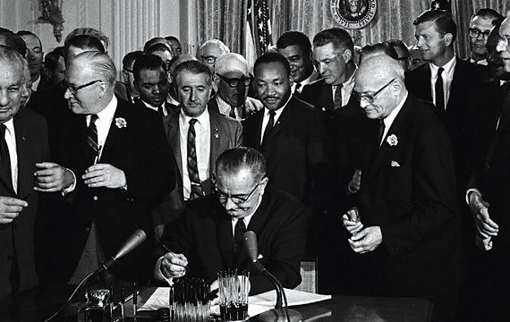 civil rights act signing 2