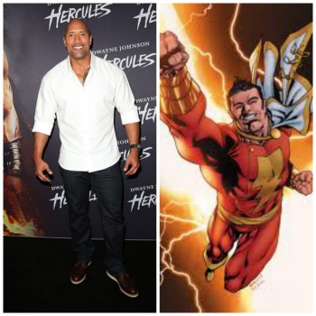 dwayne johnson, captain marvel,