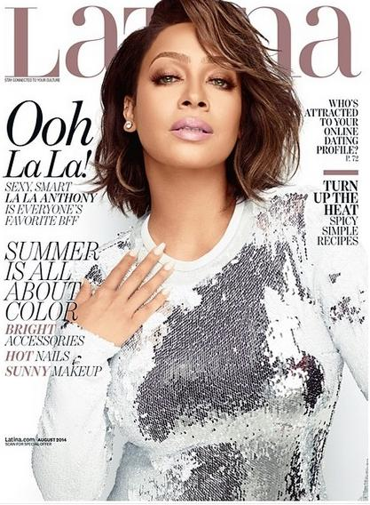 lala anthony - latina mag