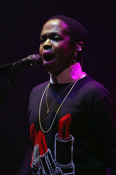 Lauryn Hill performs live for fans at Palais Theatre on May 21, 2014 in Melbourne, Australia