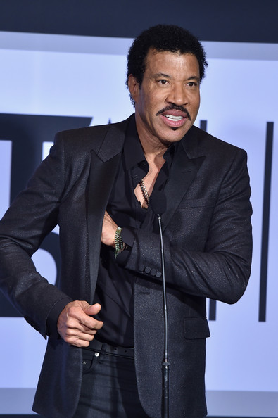 Lifetime Achievement recipient Lionel Richie, poses in the Winners Room during the BET AWARDS '14 at Nokia Theatre L.A. LIVE on June 29, 2014 in Los Angeles, California