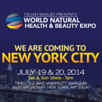 The World's Natural Health and Beauty Expo to take New York by Storm with Inaugural Weekend Debut