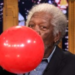 Jimmy Fallon Interviews Morgan Freeman on Helium (Watch)
