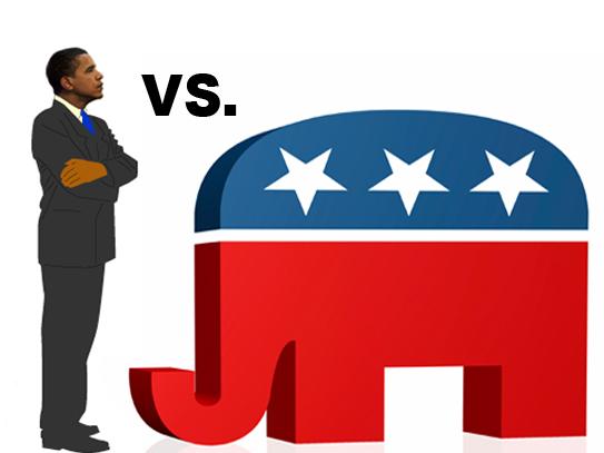 obama vs gop