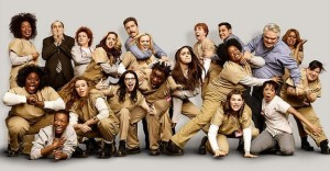"Cast of the Netflix series ""Orange is the New Black"""
