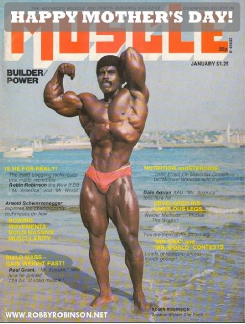 robby robinson - muscle cover