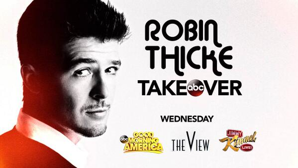 robin thicke takeover