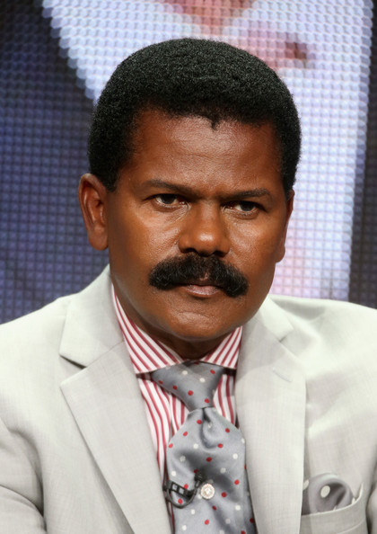 Bishop Ron Gibson speaks onstage at the 'Preachers of L.A.' panel during the NBCUniversal Oxygen portion of the 2014 Summer Television Critics Association at The Beverly Hilton Hotel on July 14, 2014 in Beverly Hills, California