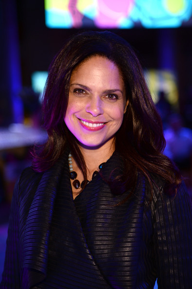 Journalist Soledad O'Brien attends the SpongeBob SquarePants themed, 41st birthday party for Pharrell Williams at Bikini Bottom at Cipriani Wall Street on April 4, 2014 in New York City