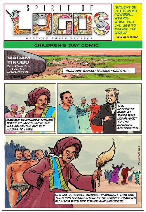 spirit of lagos - cartoon