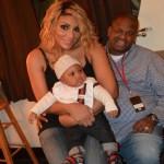 Tamar Braxton Calls Her Son Logan 'a Little Benjamin Button'