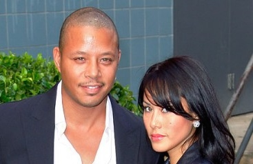 terrence howard & michelle ghent
