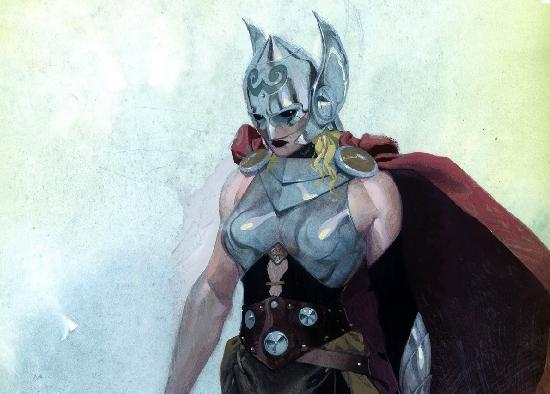 thor as a woman
