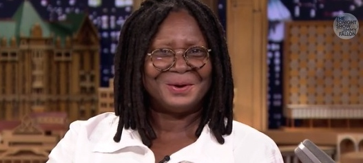 whoopi and jimmy lip flip