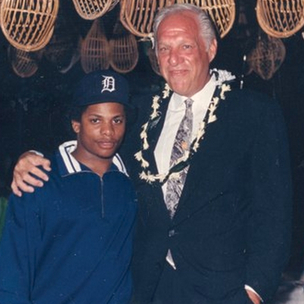 Eazy-E and Jerry Heller