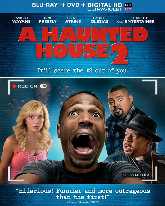 A HAUNTED HOUSE 2 Blu ray cover 2