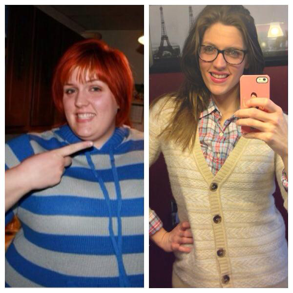 Brooke Burmingham put THIS before and after weight loss photo on Facebook first…