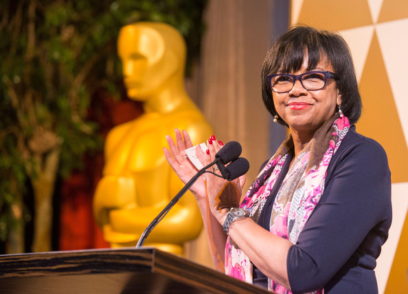 Academy President Cheryl Boone Isaacs attends the 86th Annual Academy Awards - Oscar Foreign Language Reception at LACMA on February 28, 2014 in Los Angeles
