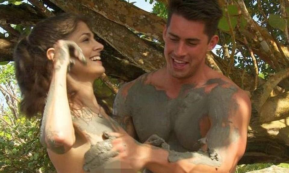 Jessie Nizewitz and her 'Dating Naked' co-star