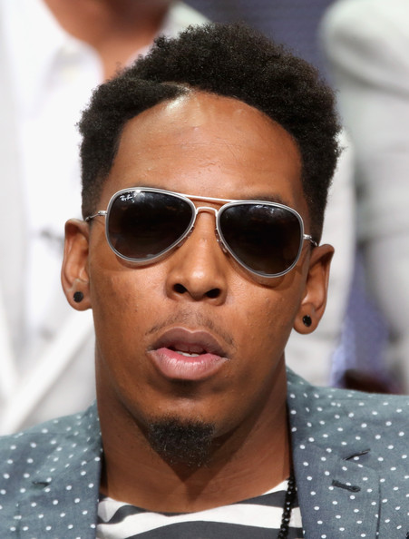 Minister Deitrick Haddon speaks onstage at the 'Preachers of L.A.' panel during the NBCUniversal Oxygen portion of the 2014 Summer Television Critics Association at The Beverly Hilton Hotel on July 14, 2014 in Beverly Hills, California