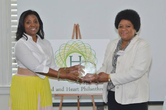 Christal Jackson & Comcast Foundation President Charisse Lillie