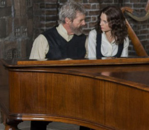 Jeff Bridges and Taylor Swift in 'The Giver'