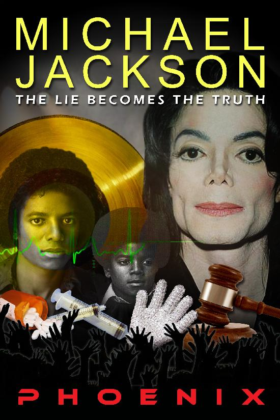 michael jackson - the lie becomes the truth (book cover)