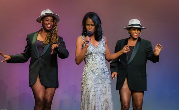 "Anika Isom, Jazzy Rita Shelby, Herronda Harley perform ""On Broadway"" choreographed by Cerise Johns"
