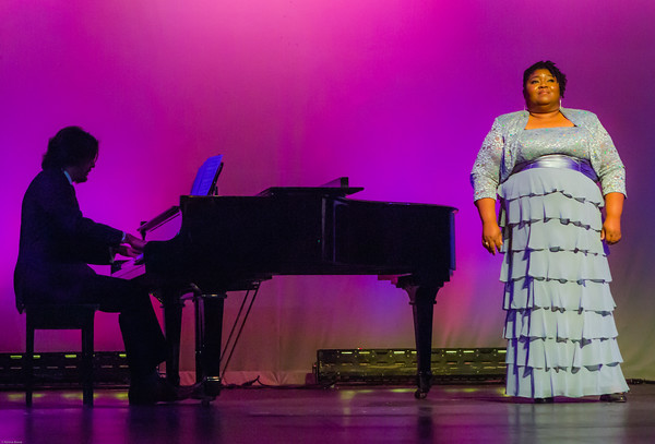 Opera star Lenora Greene performs at the 2014 WTFM