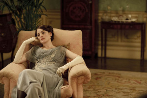 "Michelle Dockery as Lady Mary in ""Downton Abbey"""