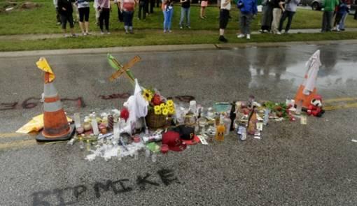 Mike Brown Memorial