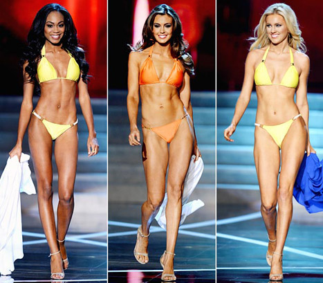 Miss USA 2013 bikini bodies photo