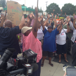 #MikeBrown: 'Hands Up, Don't Shoot' Protesters Highlight Senseless Cop Killing of St. Louis Teen