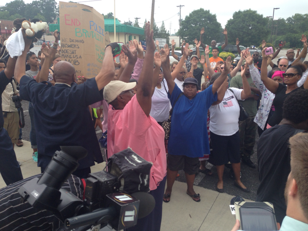 Protests for Mike Brown